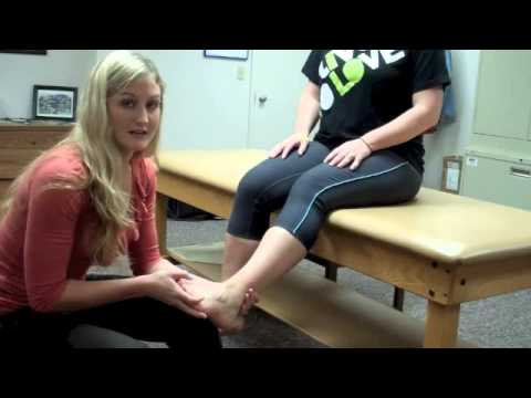 Custom orthotics fitting:  Huntington Physical Therapy