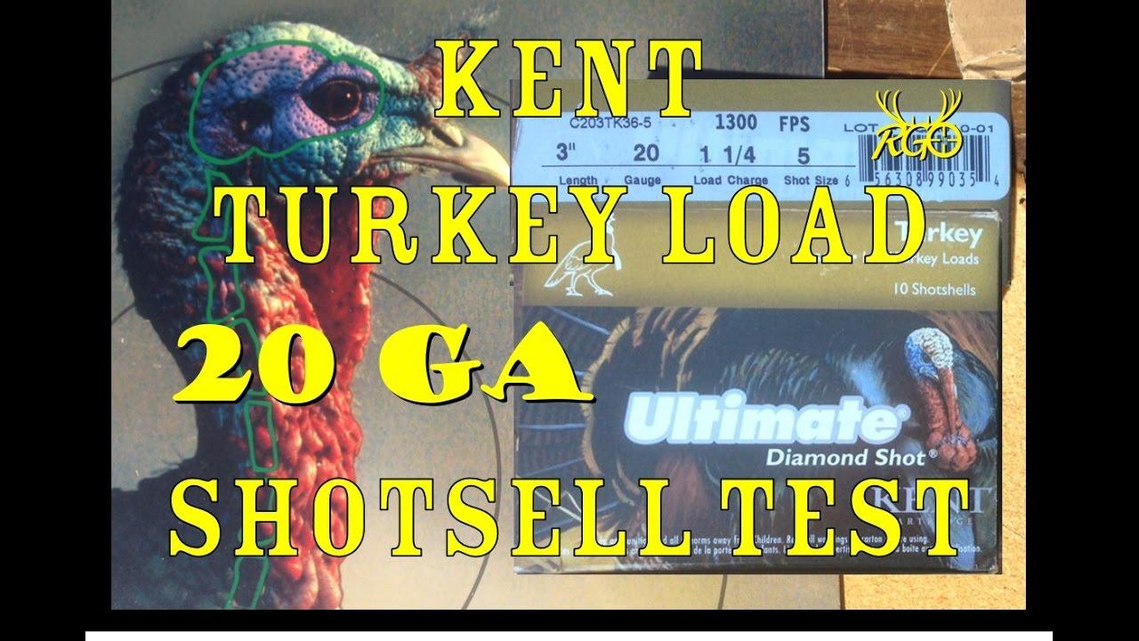 Kent 20 Gauge Turkey Load Review- Shotshell Patterning and Testing-RGO Ep 35