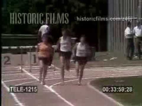 1970 - Frank Shorter vs. Jack Bacheler in a 3-mile race