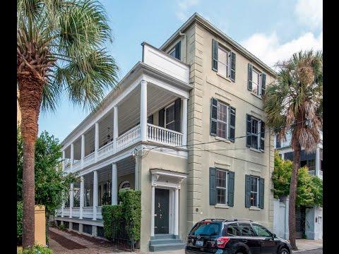 58 Society Street- Charleston, South Carolina- Real Estate Video