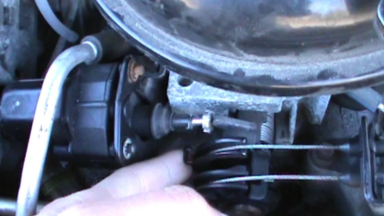 IAC Idle Air Control Motor Removal 300ci Cadillac V8