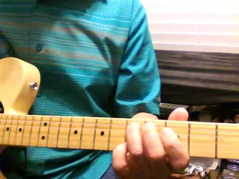 Randy Travis - Diggin\' Up Bones Solo Guitar Lesson - YouTube