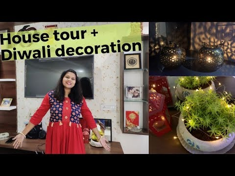 DEVINA & BIPIN - HOUSE TOUR + DIWALI DECORATION