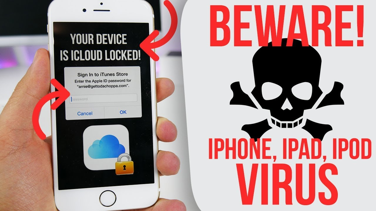 virus removal for iphone beware iphone phishing attack ios 11 1 confirmed 7261