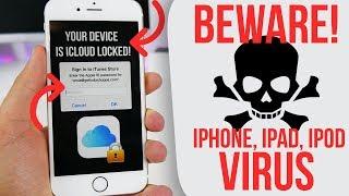 BEWARE! IPhone VIRUS  / Phishing ATTACK! IOS 11.1 Confirmed Working!