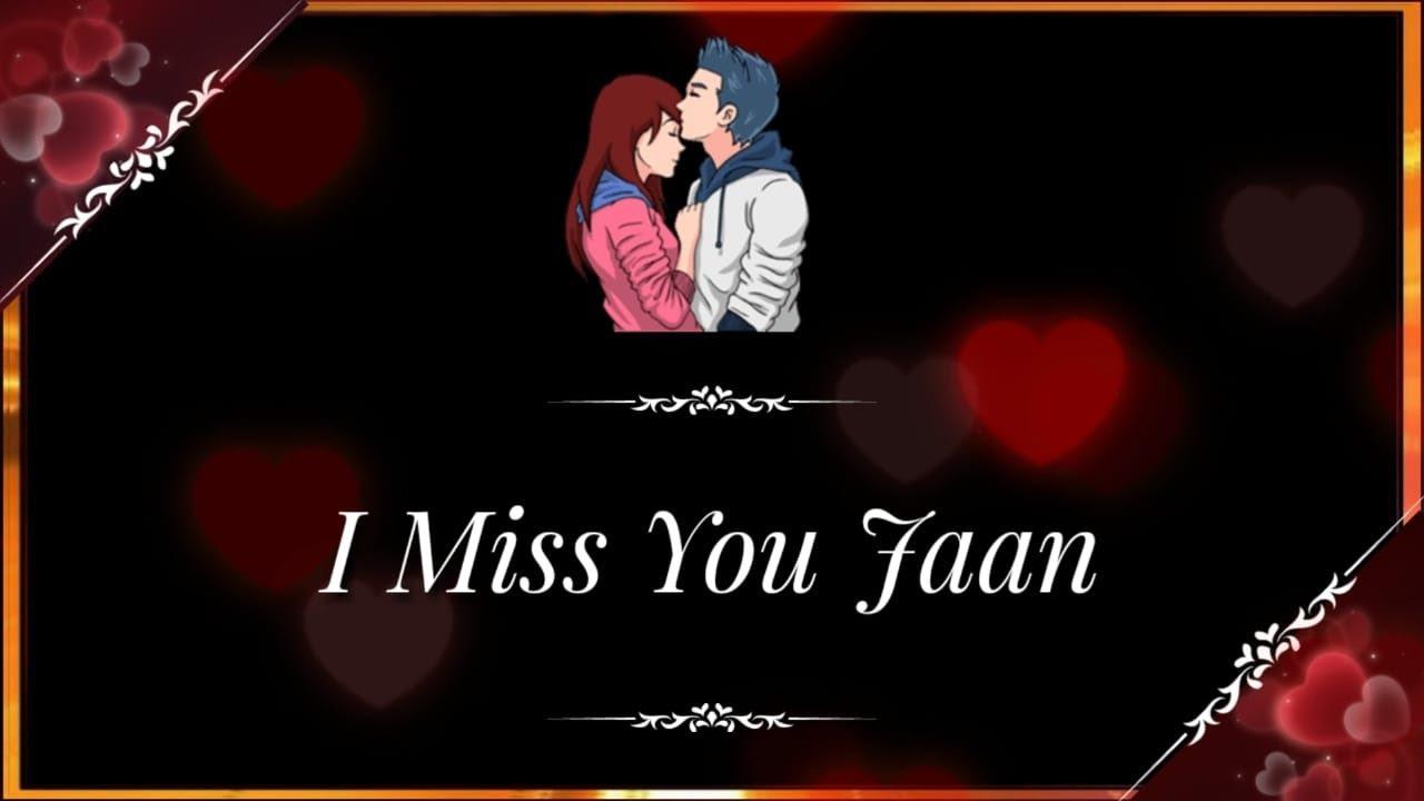 I miss u jaan ❤ Miss u shayari ❤ Very sad heart touching hindi shayari