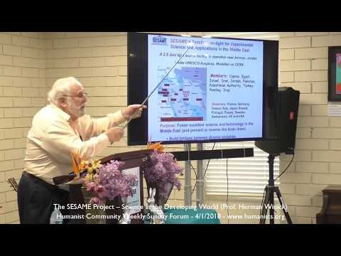 The SESAME Project – Science in the Developing World - Prof. Herman Winick
