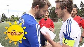 Deutschlands schlechteste Fußballmannschaft | SAT.1 Frühstücksfernsehen | TV