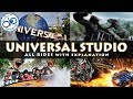 Universal Studios Hollywood | All Rides with Video and explanation
