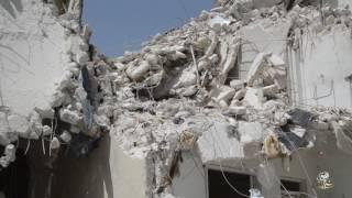 استشهاد أكثر من خمسين مدنياً بقصف جوي على مناطق مختلفة في مدينة إدلب