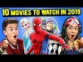 RootBux.com - Generations React To 10 Most Anticipated Movies of 2019 (Frozen 2, Hobbs & Shaw, Dumbo)