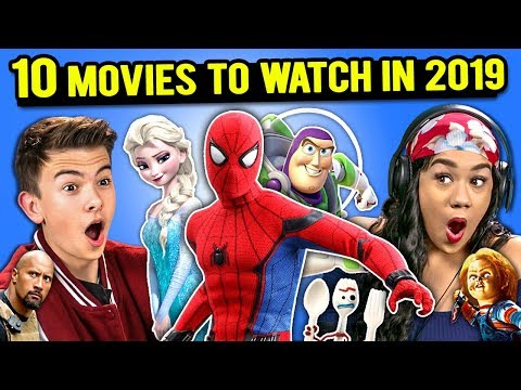 Generations React To 10 Most Anticipated Movies of 2019 (Frozen 2, Hobbs & Shaw, Dumbo)