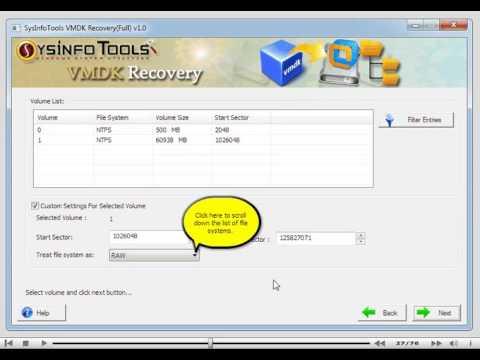 SysInfoTools VMDK Recovery