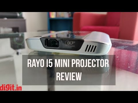 Rayo i5 Mini Projector Review -  A projector that fits in your pocket | Digit.in