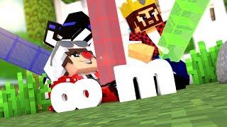 ЧЕЙ СТОЛБ ДЛИННЕЕ? МЫ УМЕНЬШИЛИСЬ И СТАЛИ МИКРОБАМИ | Minecraft