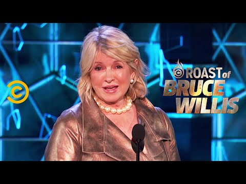 Martha Stewart Lays Into the Dais - Roast of Bruce Willis