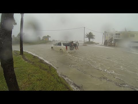 Tropical Storm Irma at Edisto Beach