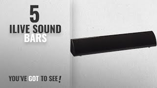Top 5 Ilive Sound Bars [2018]: iLive ITB105B 20-Inch Compact Sound Bar with Bluetooth 2.0