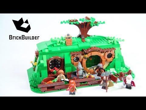Lego Hobbit 79003 An Unexpected Gathering Lego Speed Build Youtube