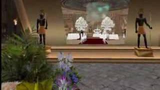Casamento de Pitbull Dryke e NanyCortes Horan no Second Life.