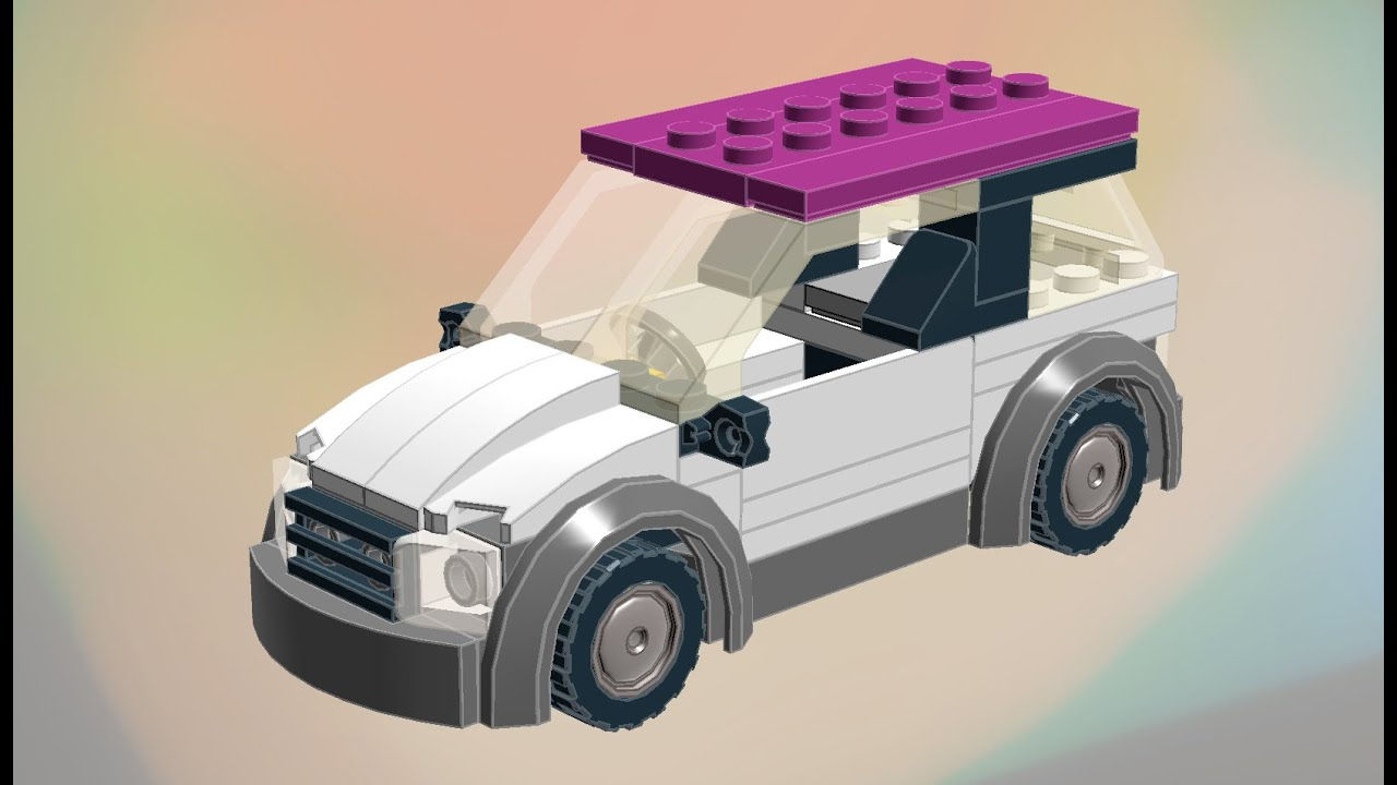 lego car moc easy to build instructions how to build. Black Bedroom Furniture Sets. Home Design Ideas