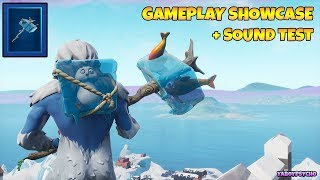 "*NEW* ""ABOMINABLE AXE"" GAMEPLAY Showcase + SOUND TEST with ""TROG"" SKIN 
