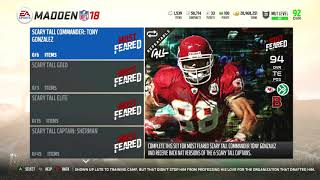 Madden 18 Ultimate Team-Most Feared Content Released! 2 Most Feared Legends!-Madden 18 Ultimate Team