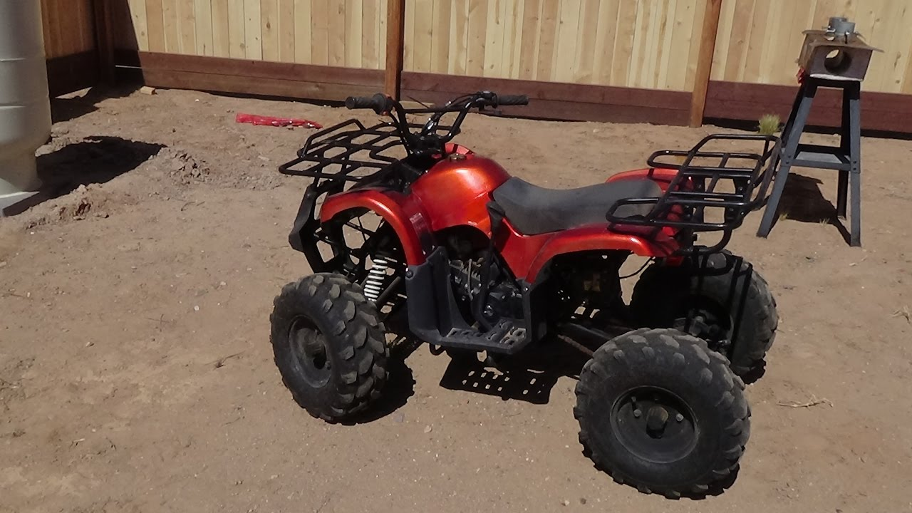 ATV Coolster 125cc, Breathing New Life into an Old Machine Part 2