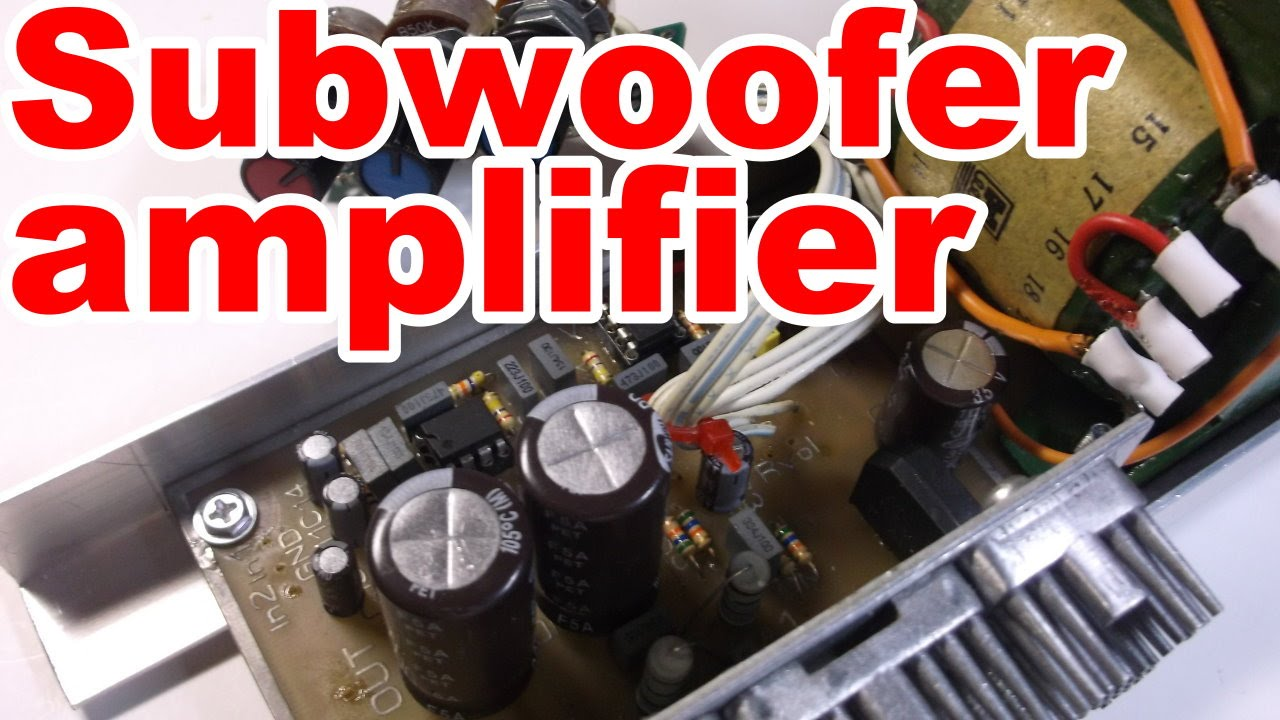 How To Make Home Subwoofer Amplifier Youtube 300 Watt Mosfet Circuit Explained
