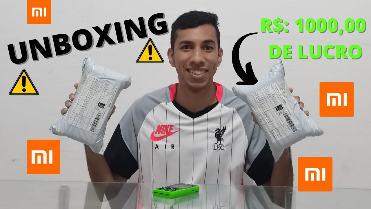 Mega Unboxing Aliexpress - Lucro Garantido #7