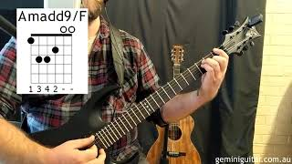 Space Rock Guitar Lesson - The 'Epic' Progression