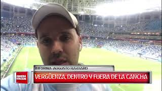 Deportes: Dura derrota de Argentina frente a Croacia.
