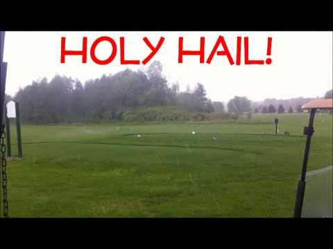 Hail Storm Strawberry Park Preston Ct 5 25 14 Funnycat Tv