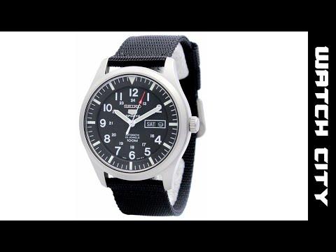 Seiko 5 Sports Automatic SNZG15 SNZG15K1 SNZG15K 100M Men's Watch