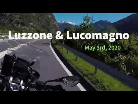 Lucomagno and Luzzone on a R1250 GS Adventure