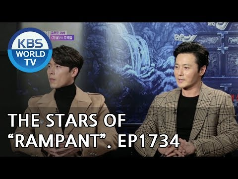 "Interview with the Stars of ""Rampant"" [Entertainment Weekly/2018.10.22]"