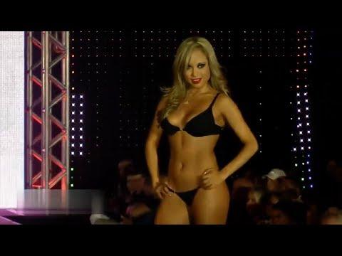 Fashion show,показ бикини new collection microbikini summer haul bikini try on, 2018