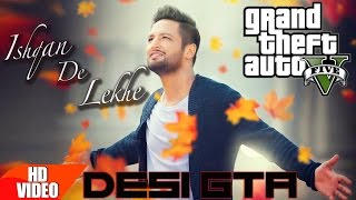 Ishqan De Lekhe || GTA 5 || Music Video || Sajjan Adeeb