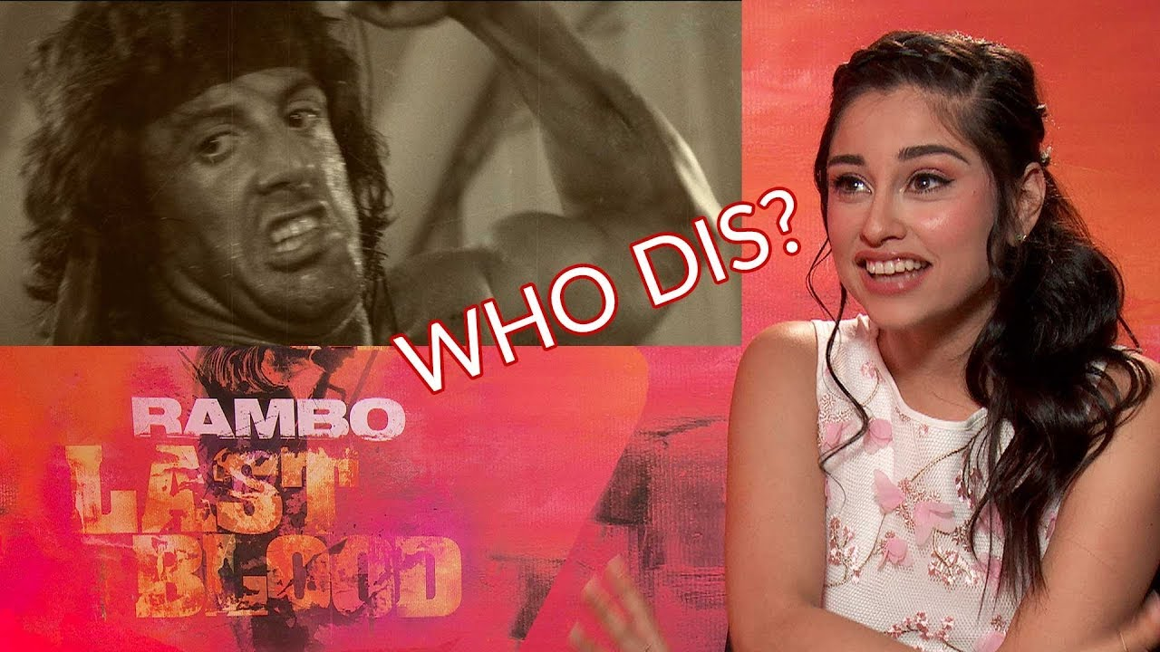 Download Sylvester Stallone's Rambo Last Blood Costar Yvette Monreal Didn't Know He Was Rambo