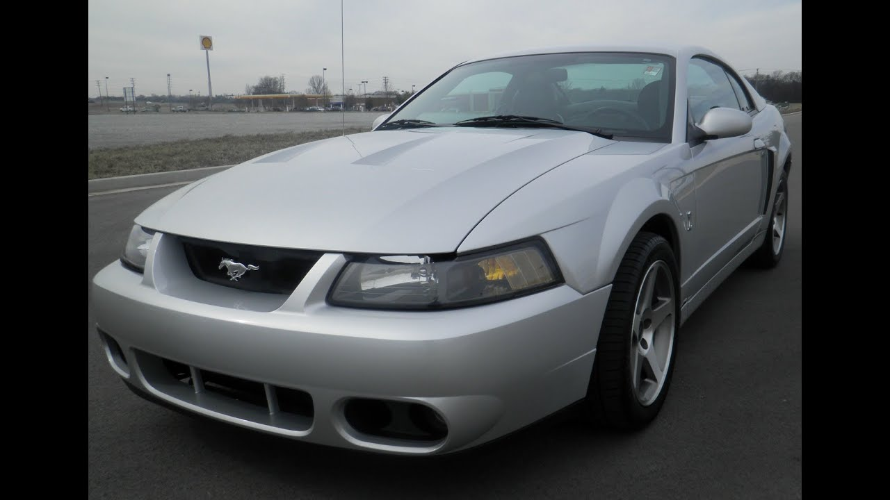 Sold 2004 ford mustang svt cobra coupe silver 4 6 32v supercharged 390hp 126k 855 507 8520