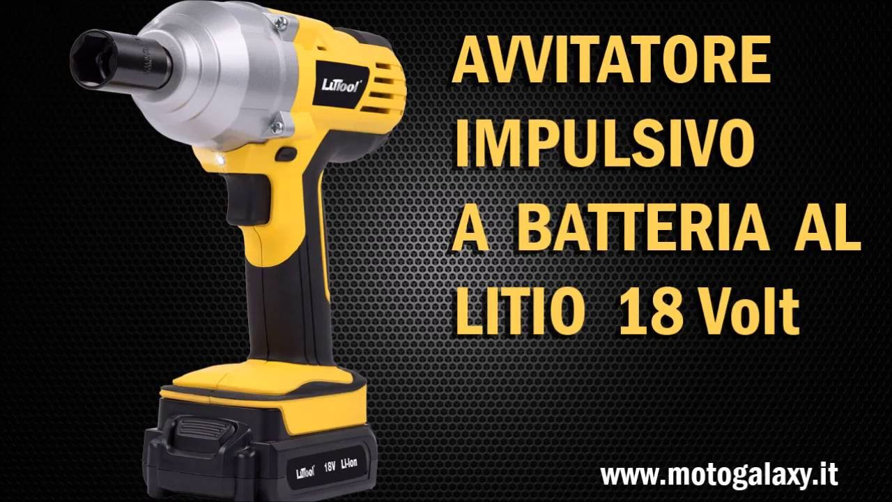 Avvitatore massa battente 18v li ion youtube for Parkside avvitatore a percussione