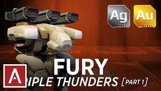 Walking War Robots [WWR] - FURY TRIPLE THUNDER part 1 - Gameplay | ADRIANNNNNN