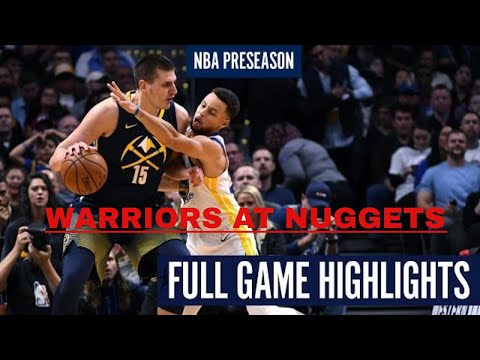 WARRIORS at NUGGETS | FULL GAME HIGHLIGHTS | December 12, 2020