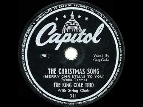 1946 HITS ARCHIVE: The Christmas Song - Nat King Cole (his original hit)