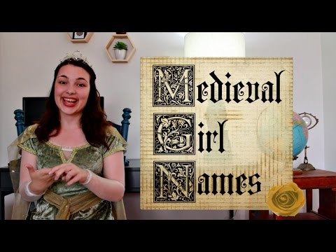Medieval Girl Names
