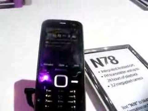 Nokia N78 Hands-On at CTIA Las Vegas