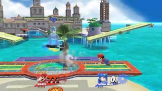 Smash / Smash Delfino Plaza Mario, Mega Man.