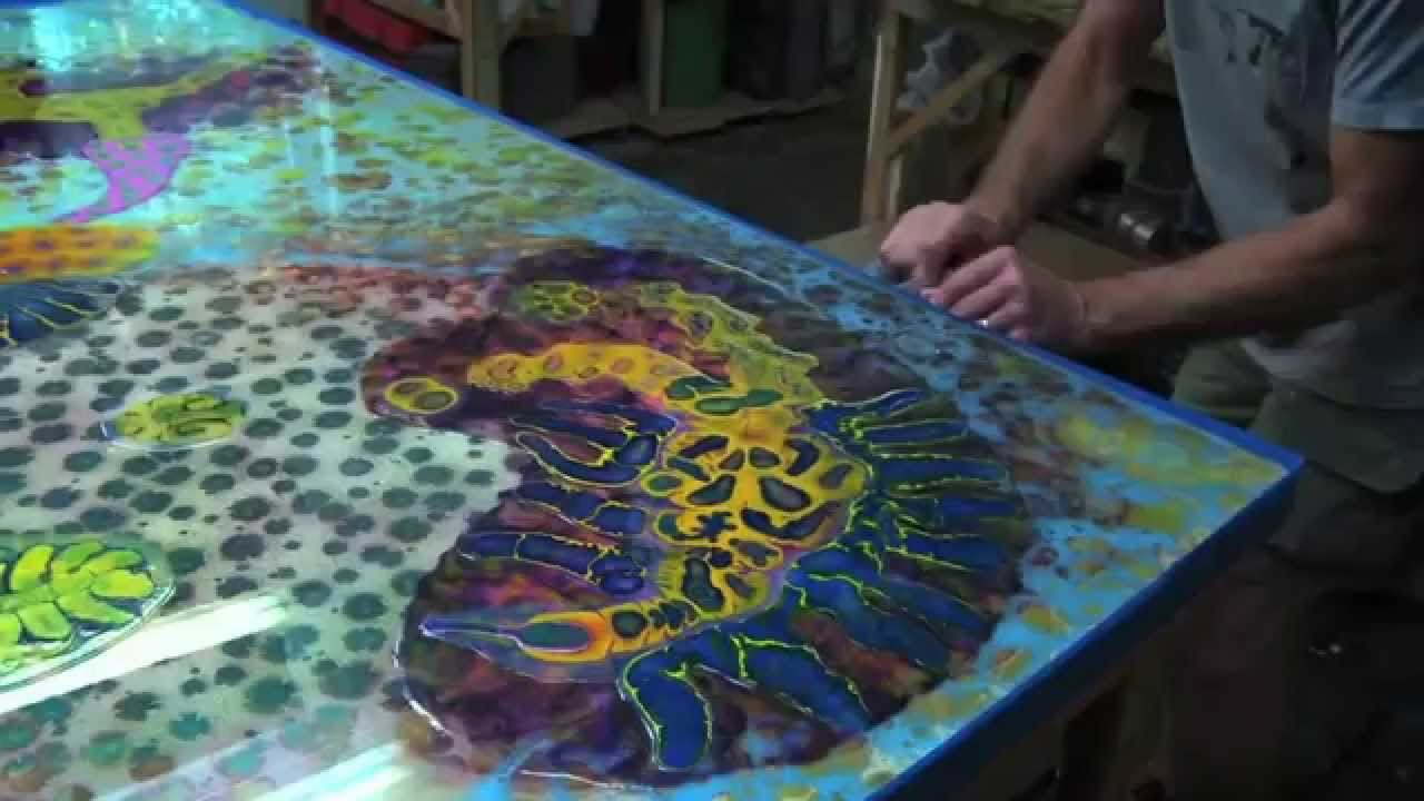 Amazing The Art Of Resin Paint YouTube