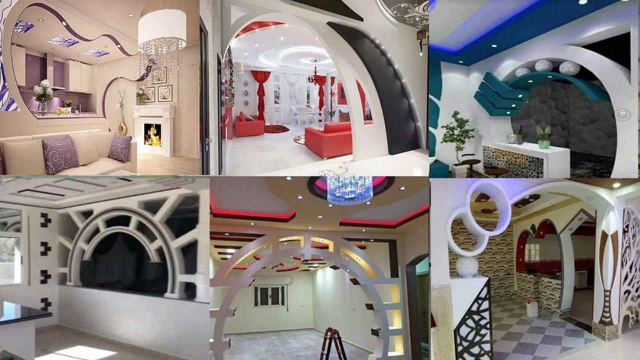 أقواس الجبس 2021 أكثر من 100 صورة لأقواس خيالية Gypsum Arches Over 100 Fancy Arch Designs Youtube