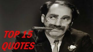 Video Top 15 Groucho Marx Quotes download MP3, 3GP, MP4, WEBM, AVI, FLV November 2017